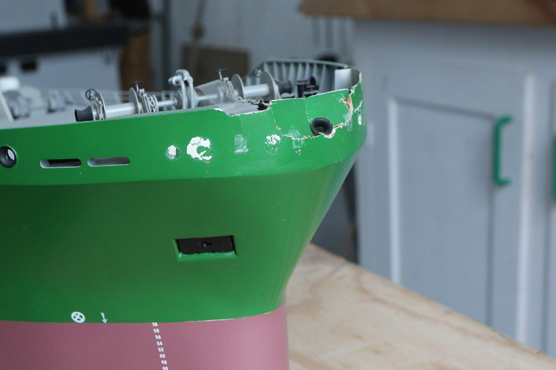[Réparation] Maquette de bateau... endommagée!  22_avr16