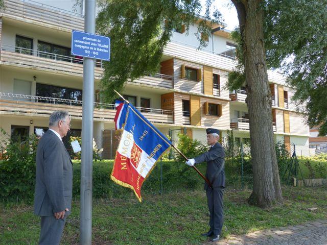 Mardi 18 Juin 2013 seront inaugurés à Nancy l'Esplanade et la Promenade du Commandant Jean Tulasne 4_homm10