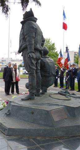 7 Mai 2013 à 11h au Bourget (93) : Cérémonie de la Victoire P1000213