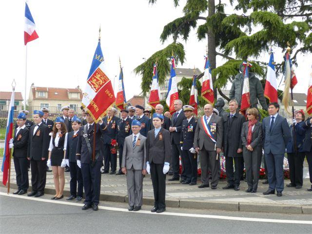 7 Mai 2013 à 11h au Bourget (93) : Cérémonie de la Victoire P1000310