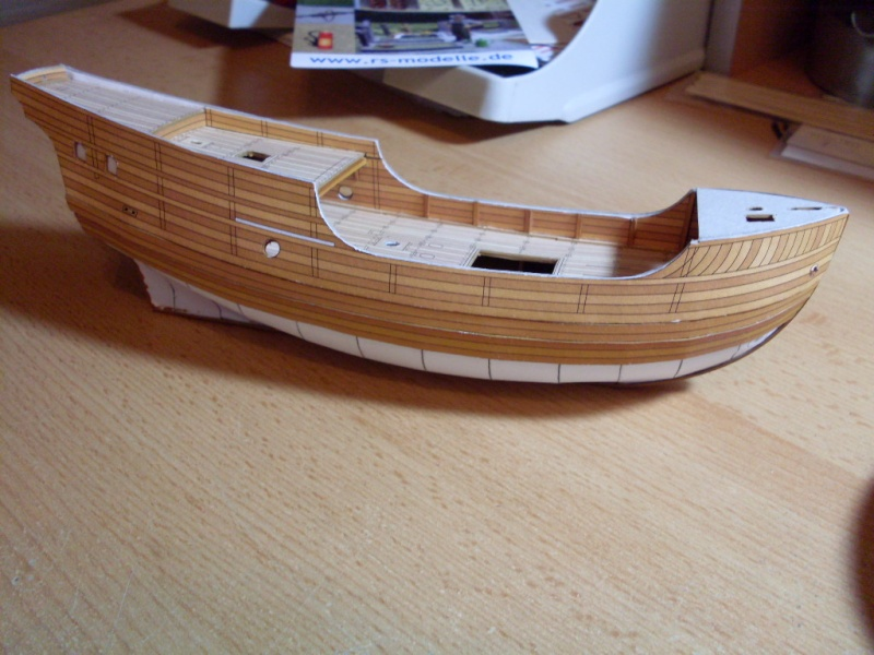 Karavelle Pinta 1:96 Shipyard Nr. 37  - Seite 3 Sdc13510