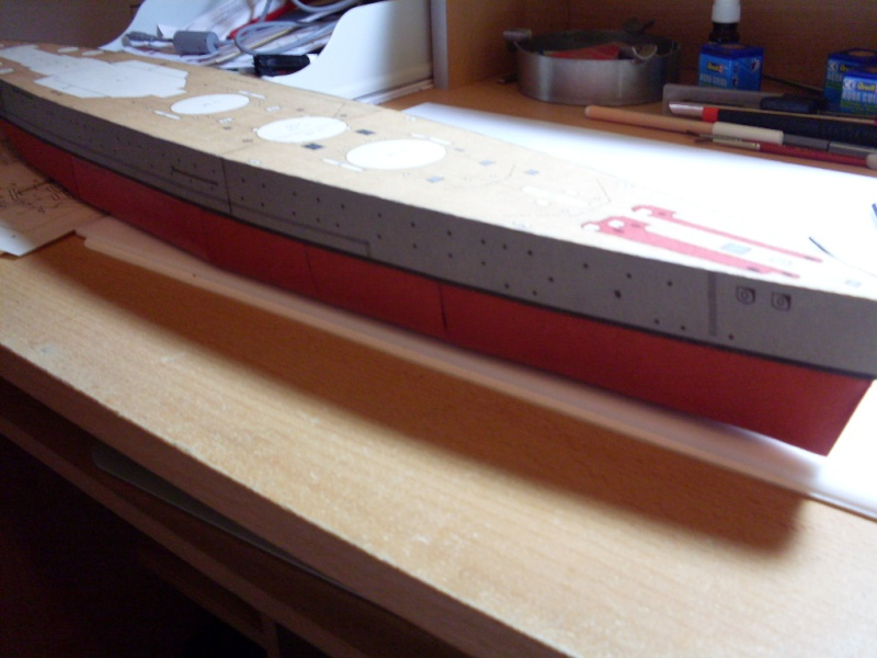 HMS Rodney Maly Modelarz 1:300 - Seite 2 Sdc13648