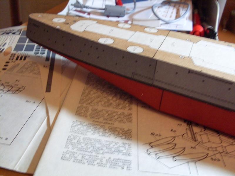 HMS Rodney Maly Modelarz 1:300 - Seite 2 Sdc13649