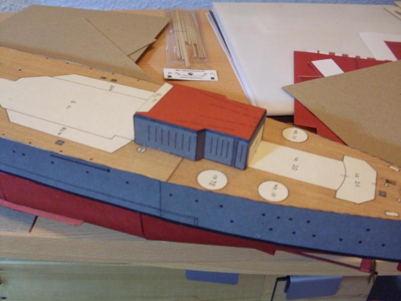 HMS Rodney Maly Modelarz 1:300 - Seite 2 Sdc13653