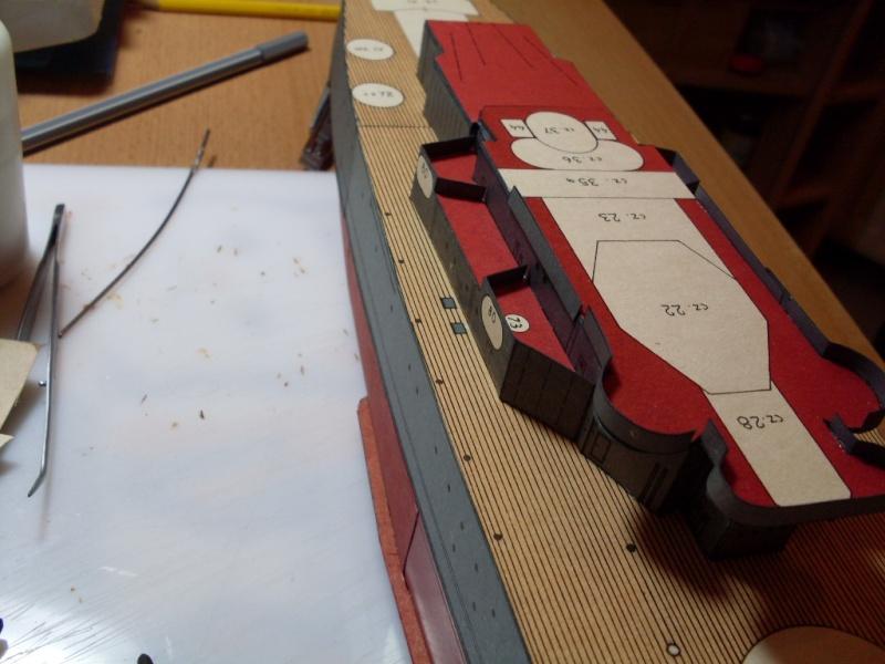 HMS Rodney Maly Modelarz 1:300 - Seite 2 Sdc13658