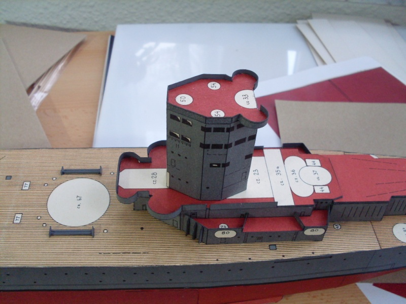 HMS Rodney Maly Modelarz 1:300 - Seite 2 Sdc13665