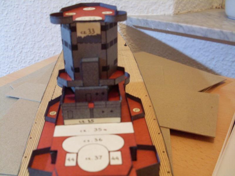 HMS Rodney Maly Modelarz 1:300 - Seite 2 Sdc13669