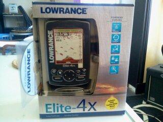 Vend Sondeur LOWRANCE ELITE 4 X 00710