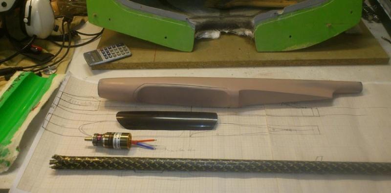 construction du Volenbulle V, 5 comme F5J 110