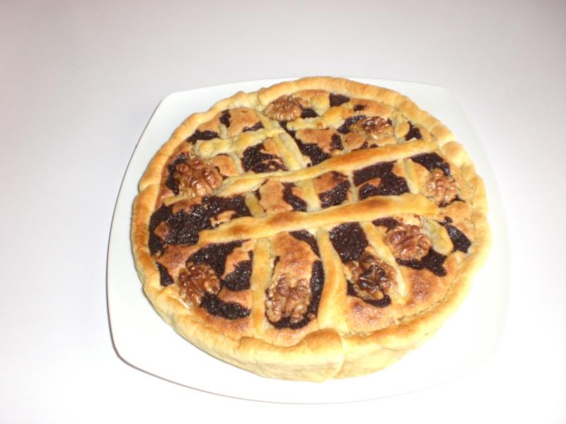 Tarte aux noix Cimg3910