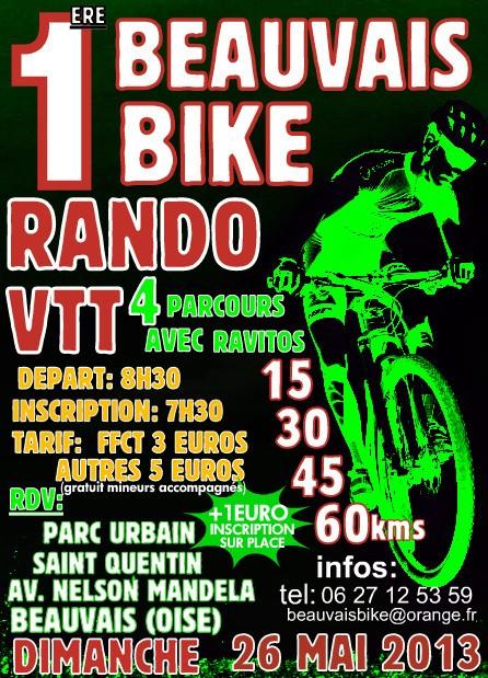 RANDO VTT DES BEAUVAIS BIKE 26 MAI 2013 Affich10