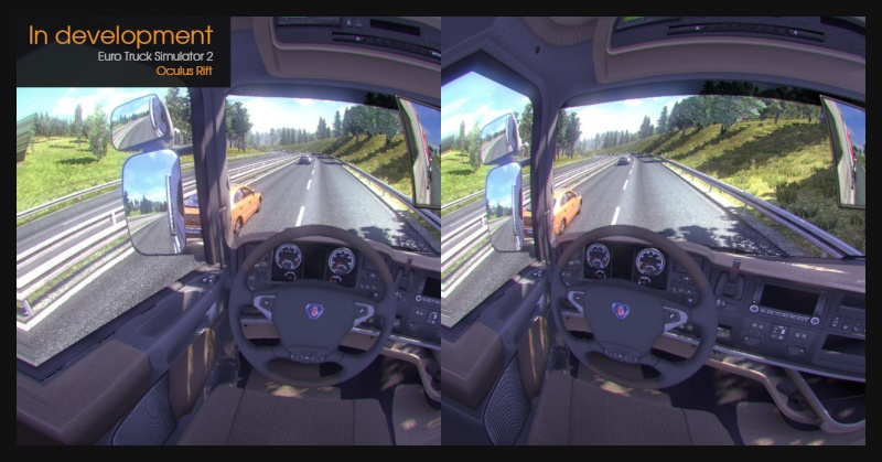 Nuovi sviluppi sul realismo di Euro Truck Simulator 2 - Oculus Rift 00110
