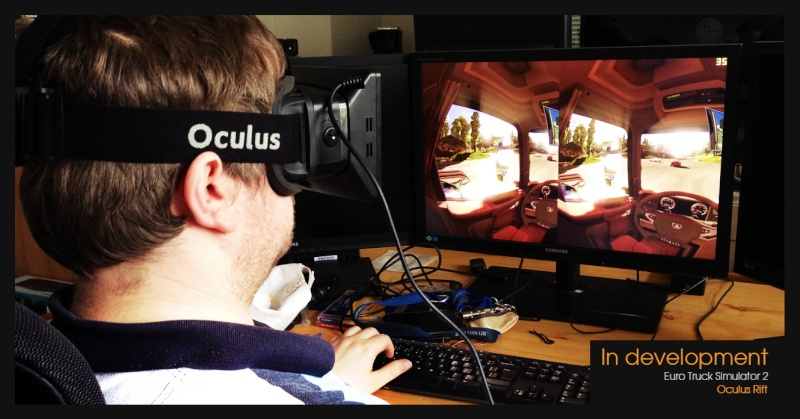 Nuovi sviluppi sul realismo di Euro Truck Simulator 2 - Oculus Rift 00210