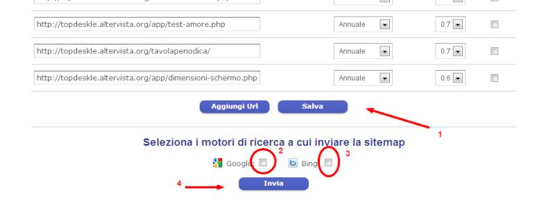 Come configurare una Sitemap su Altervista 2hcg6610