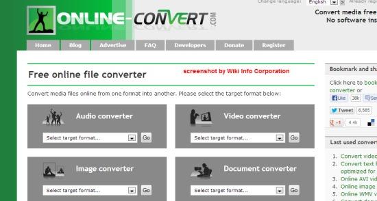 Convertire online file audio, immagini, video, documenti e molto altro, gratuitamente - Online Converter 2r7a7910