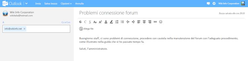 Impostare alta prorità in un'email su Outlook 2wcf8510