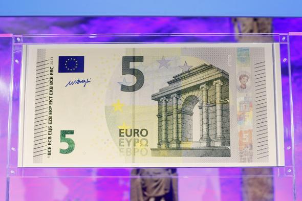 Restyling per le banconote da 5 euro Bancon10