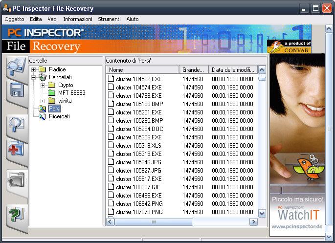 Recuperare file cancellati da chiavette USB (e altri dispositivi) - PC Inspector File Recovery Pc-ins10