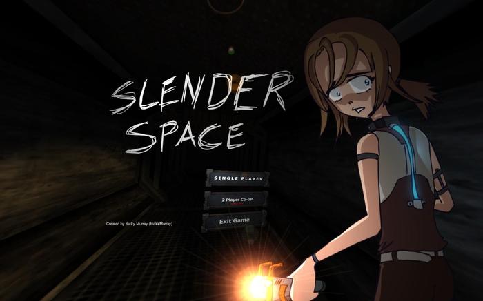 Terrore allo stato puro nello spazio - SlenderSpace Slende10