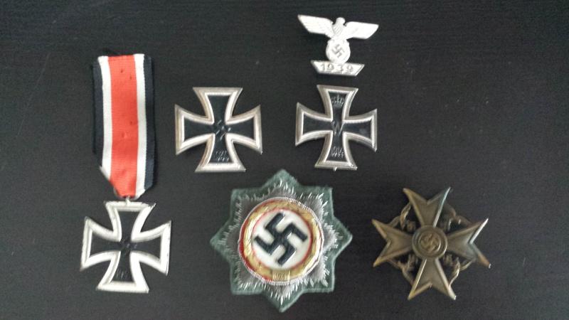 Vos décorations militaires, politiques, civiles allemandes de la ww2 - Page 3 20130510
