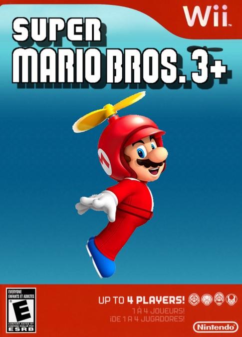 bros - Super Mario Bros. 3+ [Wii][español] T1026810