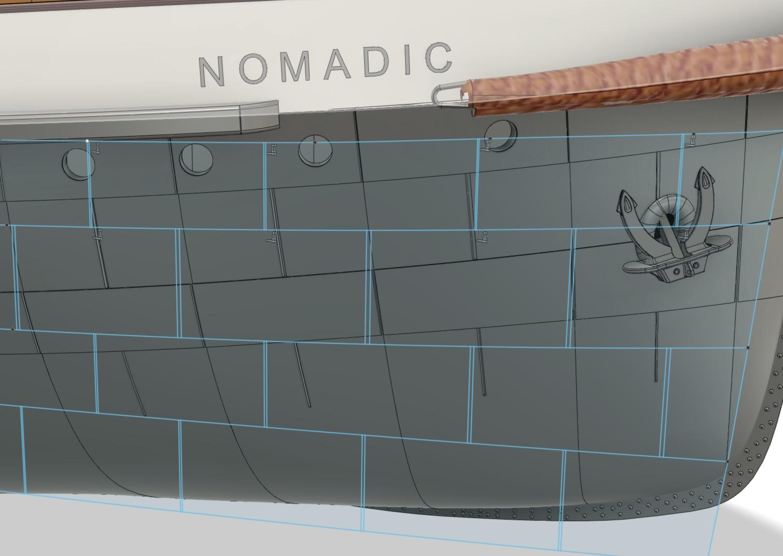 SS Nomadic - Le petit frère du Titanic - 1/200 - 3D [Conception] Screen35