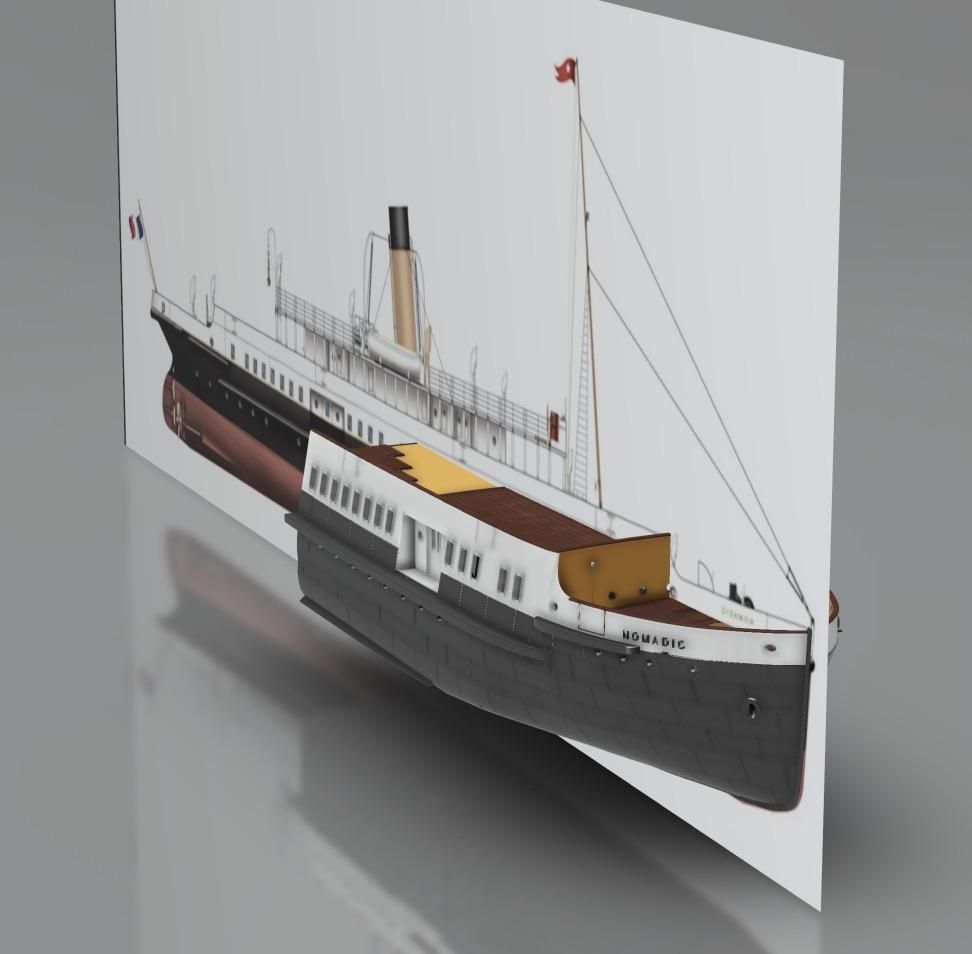 SS Nomadic (Modélisation 3D 1/200°) par Iceman29 - Page 3 Screen41