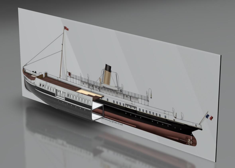 SS Nomadic (Modélisation 3D 1/200°) par Iceman29 - Page 3 Screen42