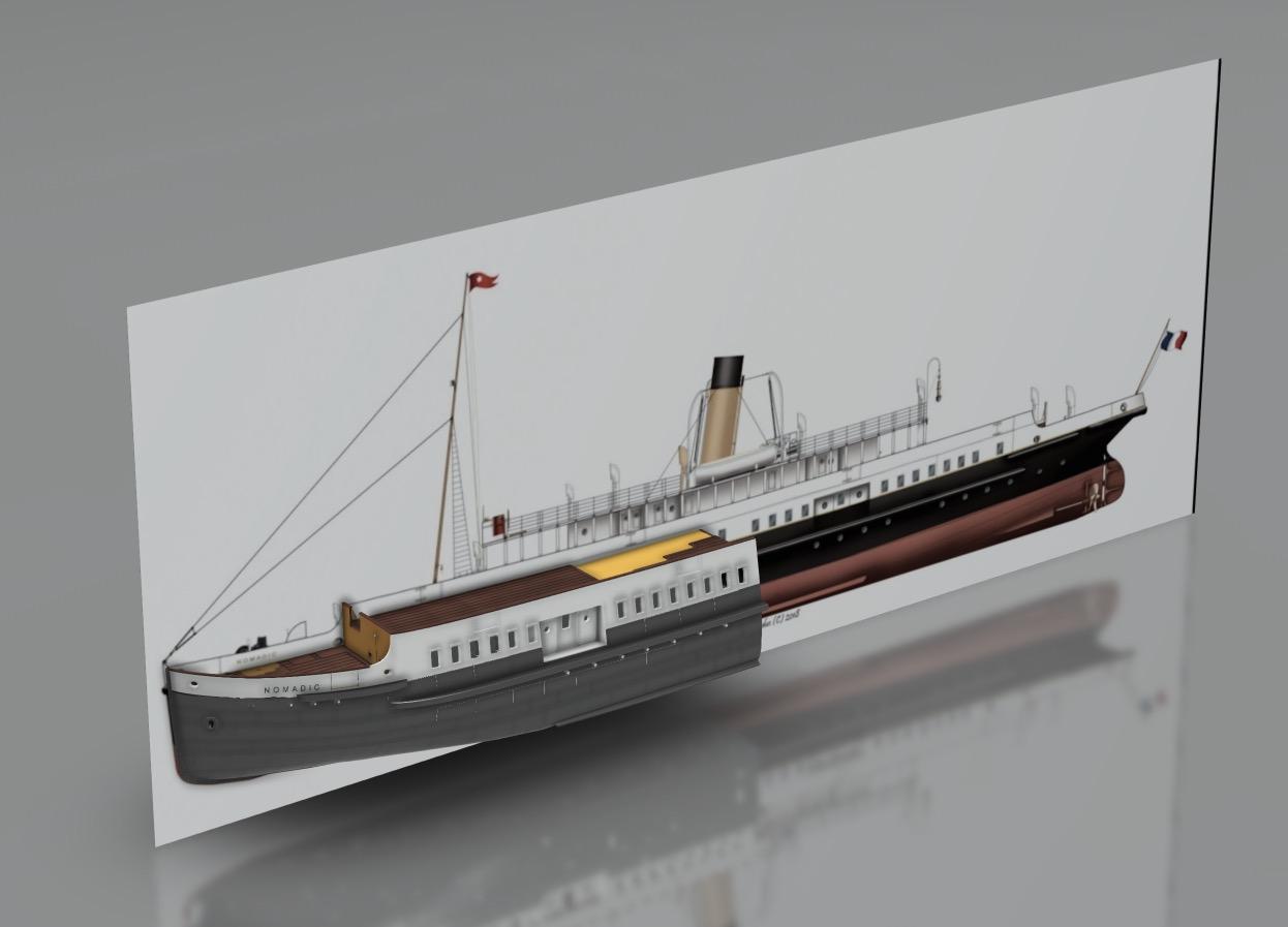 SS Nomadic (Modélisation 3D 1/200°) par Iceman29 - Page 3 Screen43