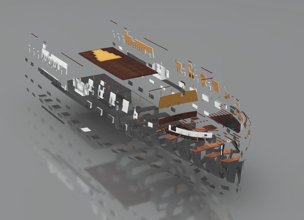 SS Nomadic (Modélisation 3D 1/200°) par Iceman29 - Page 3 Screen44