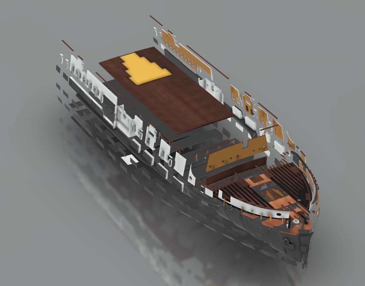 SS Nomadic (Modélisation 3D 1/200°) par Iceman29 - Page 3 Screen45