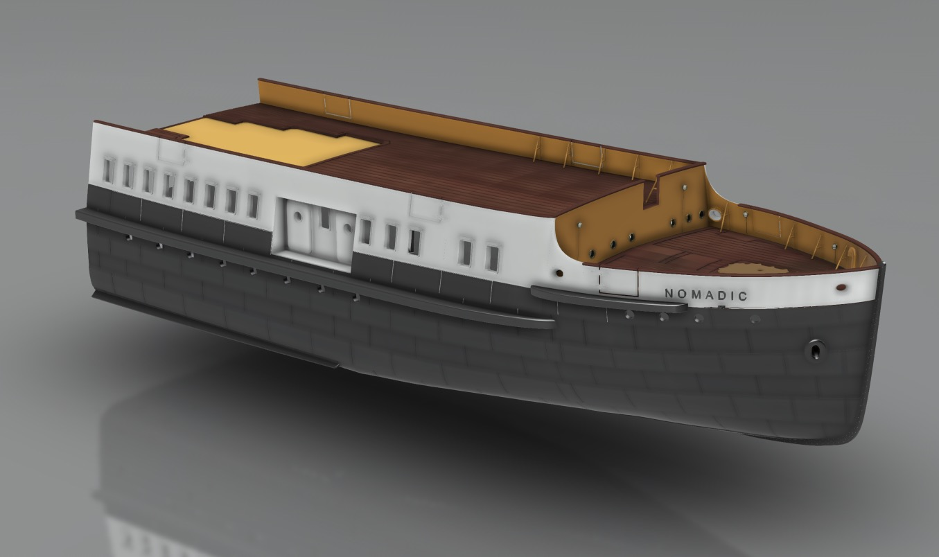 SS Nomadic (Modélisation 3D 1/200°) par Iceman29 - Page 3 Screen46