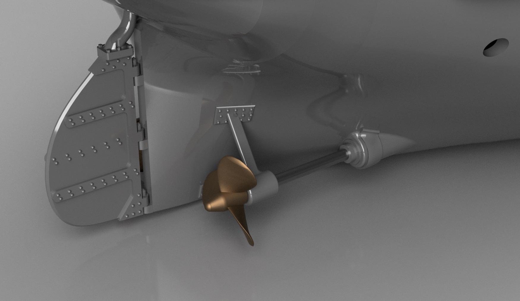SS Nomadic (Modélisation 3D 1/200°) par Iceman29 - Page 4 Screen47