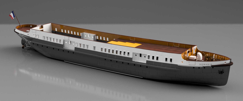 SS Nomadic (Modélisation 3D 1/200°) par Iceman29 - Page 4 Screen49