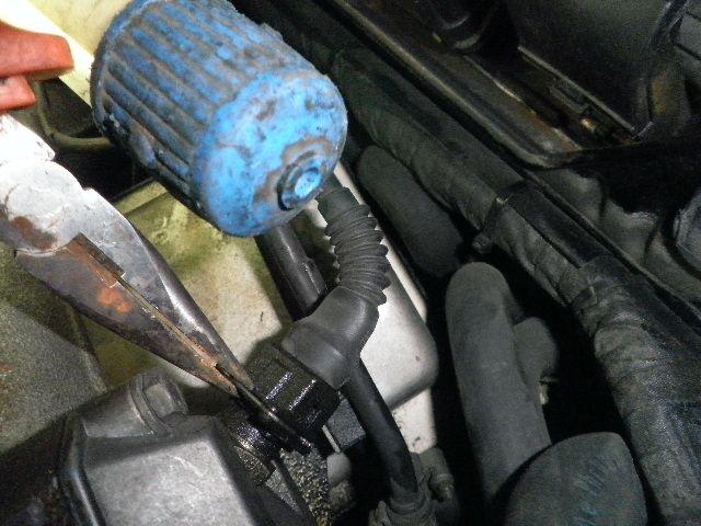 demontage haut moteur pour rampe de graissage Demont26