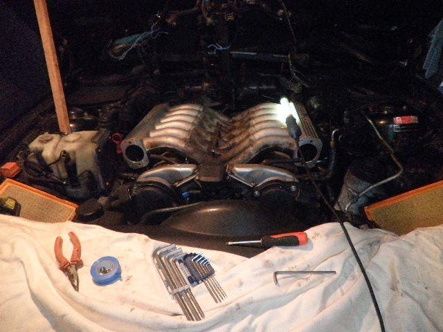 demontage haut moteur pour rampe de graissage Demont30