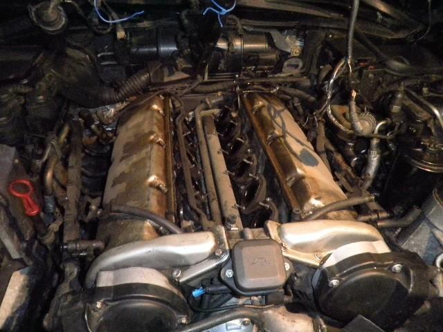 demontage haut moteur pour rampe de graissage Demont36