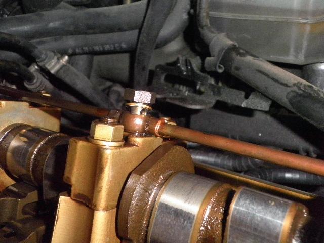 demontage haut moteur pour rampe de graissage Demont39