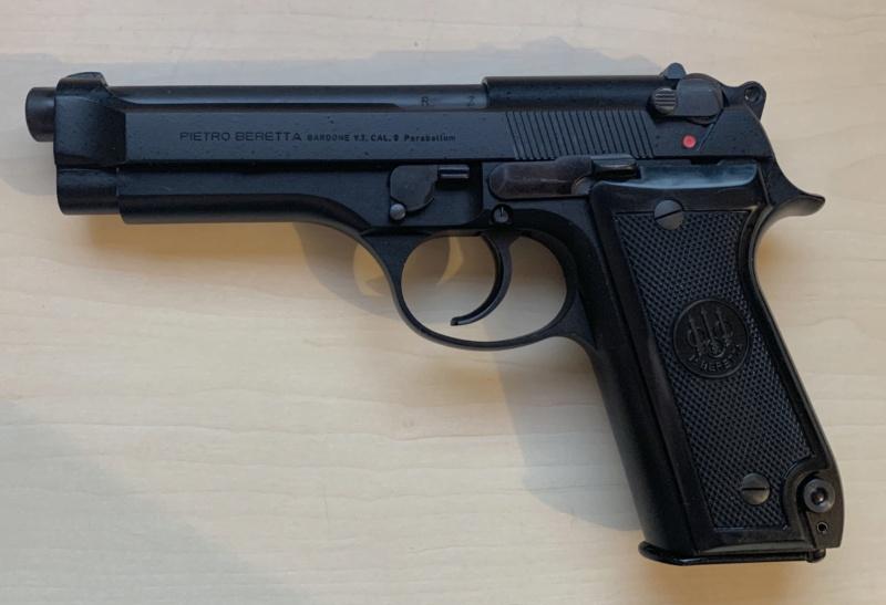 Le Beretta 92S de surplus des Carabinieri  2559f610