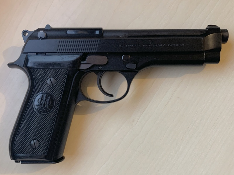 Le Beretta 92S de surplus des Carabinieri  3d7f0b10