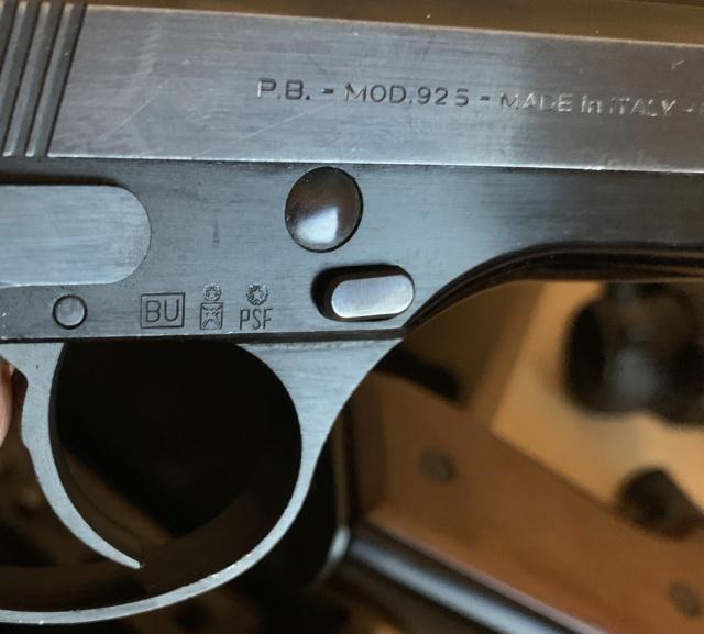 Beretta 92 FS N° série / année de fabrication ? Img_0510