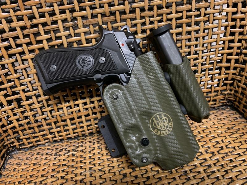 Holster pour Beretta 92 S, F, FS, Centurion, etc Img_5514