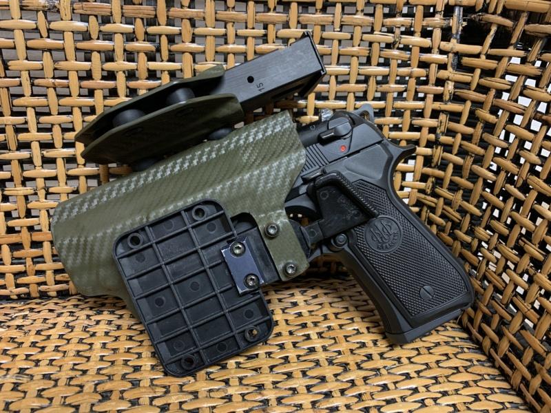 Holster pour Beretta 92 S, F, FS, Centurion, etc Img_5515