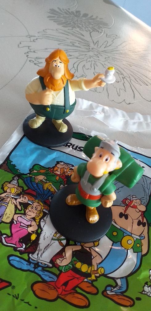 Astérix de retour chez Mcdo decembre 2019: 60 figurines à collectionner - Page 4 Asteru10