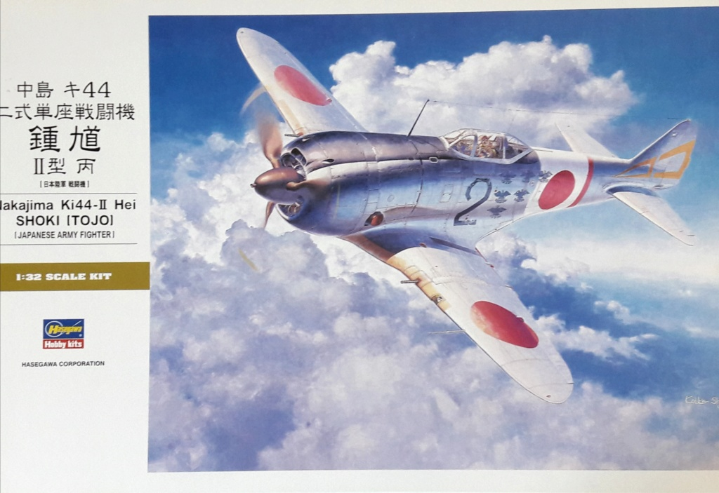 "brille - [Concours ""ça brille""] Ki-44 II - Hasegawa - 1/32  (École de chasse d'AkEno) 20190246"