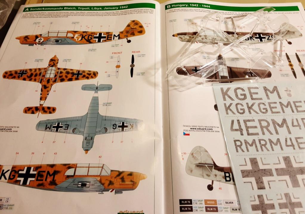Messerschmitt   Bf 108 Taifun 1/32 20201095