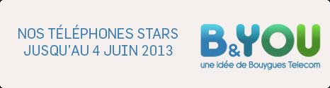 B&YOU, découvrez 8 smartphones STARS avec des remises immédiates 13694911