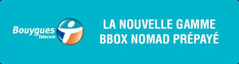 Nouveauté : Bbox Nomad prépayée c'est jusqu'à 6Go d'usage compatible 4G 13698210