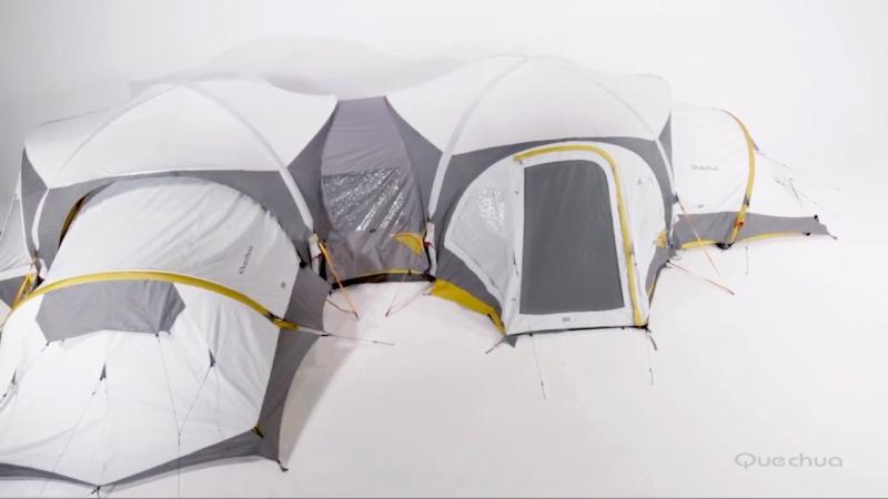avis et retour sur la nouvelle tente gonflable,décathlon - Page 5 Quechu10