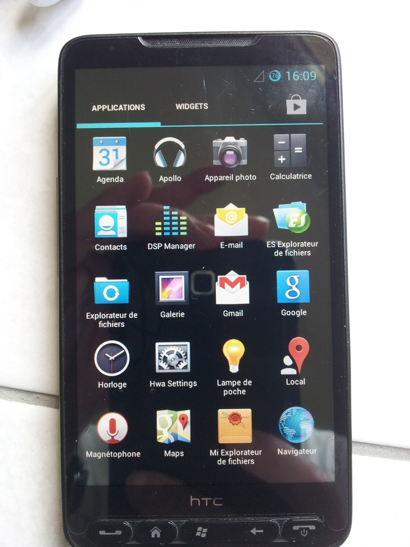 [Vendu] HTC HD2 Débloqué 20130610
